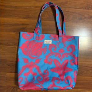 Lilly Pulitzer beach bag/ tote bag